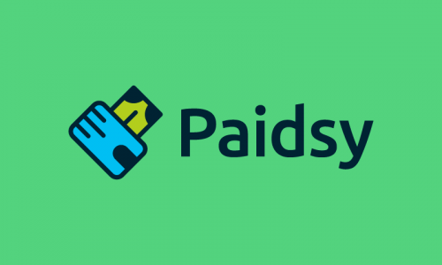 Paidsy - Finance company name for sale