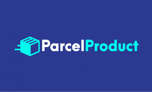 Parcelproduct - Contemporary startup name for sale
