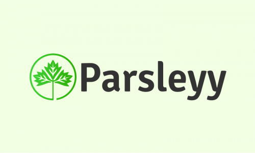 Parsleyy - Culinary domain name for sale
