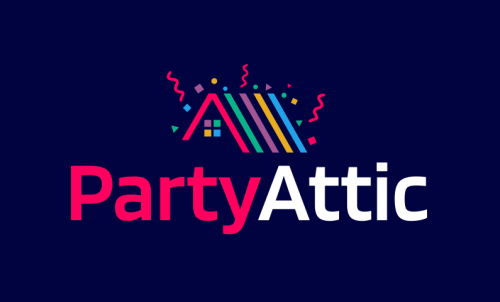 Partyattic - Business company name for sale