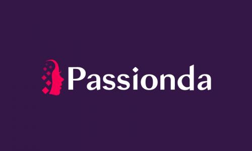 Passionda - E-commerce company name for sale