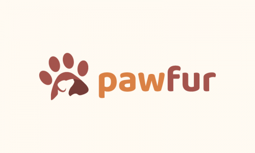Pawfur - Pets company name for sale
