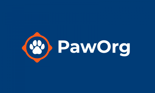 Paworg - Pets startup name for sale