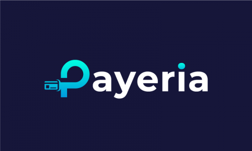 Payeria - Technology startup name for sale