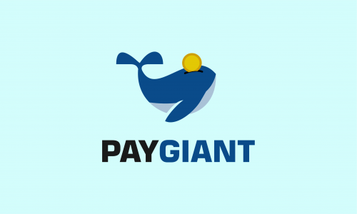 Paygiant - Banking startup name for sale