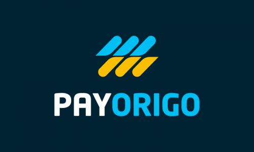 Payorigo - Payment startup name for sale