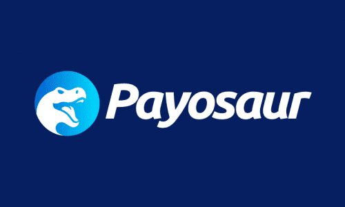 Payosaur - Banking company name for sale
