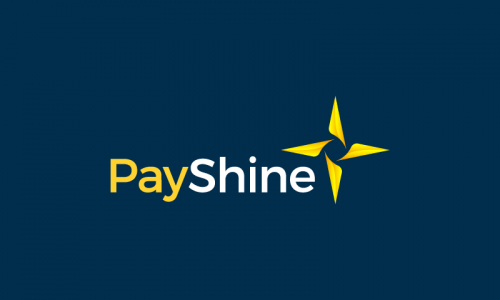 Payshine - Finance company name for sale