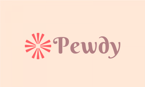 Pewdy - Healthcare brand name for sale