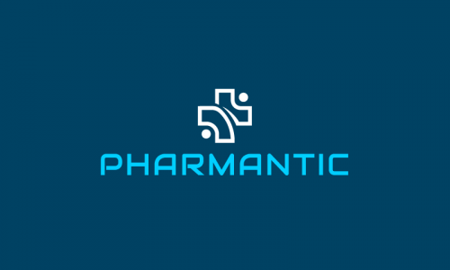 Pharmantic - Contemporary business name for sale