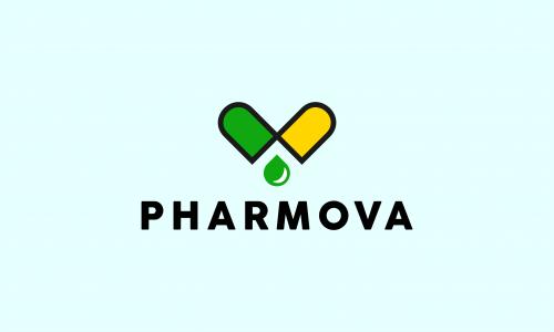 Pharmova - Brandable startup name for sale