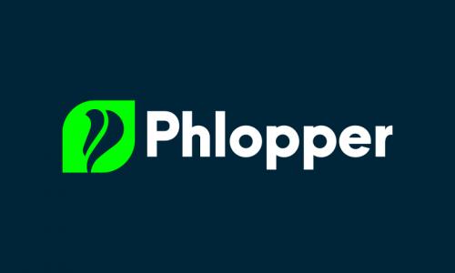 Phlopper - E-commerce brand name for sale