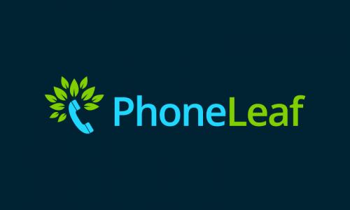 Phoneleaf - Call center company name for sale