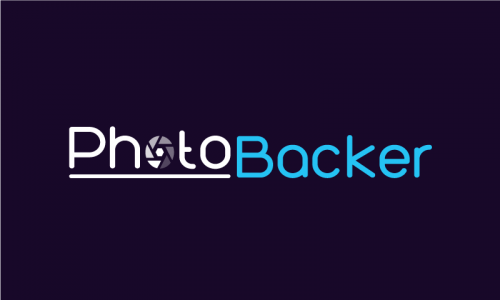 Photobacker - Photography domain name for sale