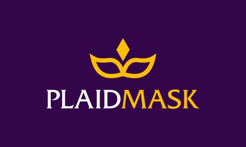 Plaidmask - Retail brand name for sale