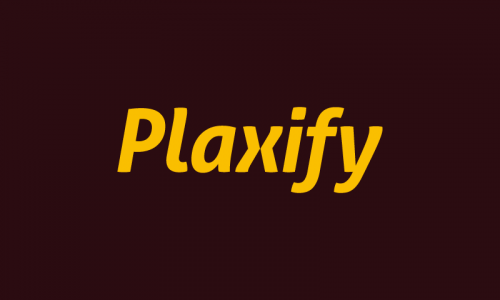 Plaxify - E-commerce brand name for sale