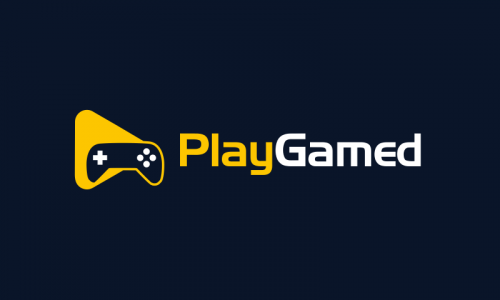Playgamed - Video games company name for sale