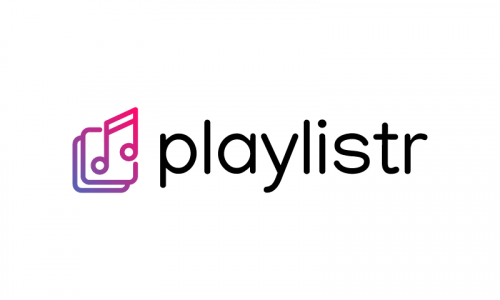 Playlistr - Video games startup name for sale