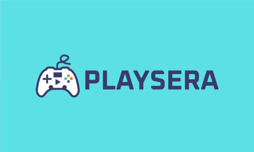 Playsera - Video games domain name for sale