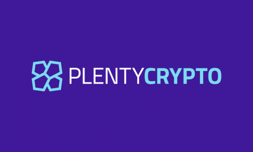 Plentycrypto - Cryptocurrency brand name for sale