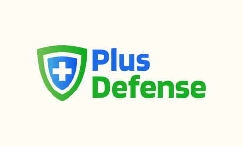Plusdefense - Security startup name for sale