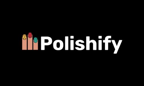 Polishify - Fashion company name for sale
