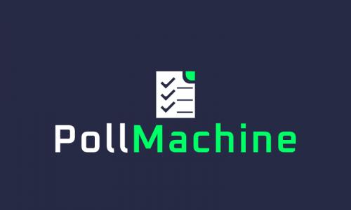 Pollmachine - Media brand name for sale