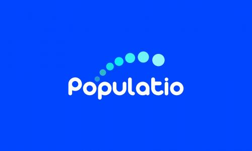 Populatio - Marketing company name for sale