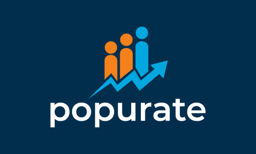 Popurate - Business domain name for sale