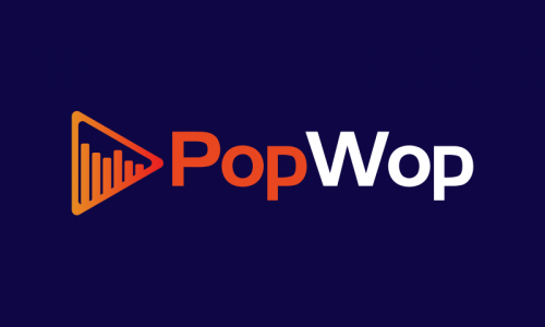 Popwop - Music domain name for sale
