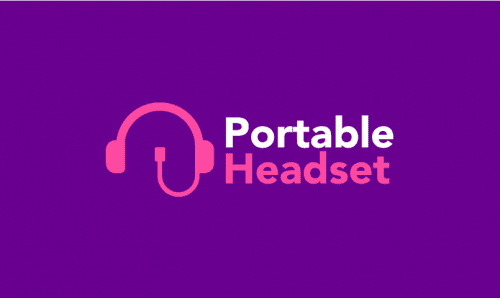 Portableheadset - Technology business name for sale