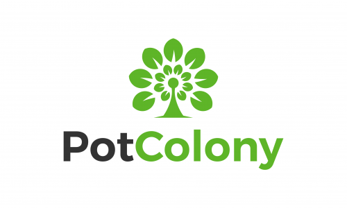 Potcolony - E-commerce business name for sale