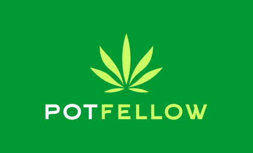 Potfellow - Cannabis business name for sale