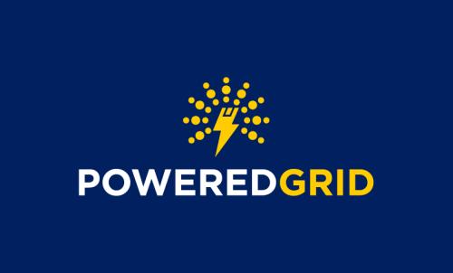Poweredgrid - Energy company name for sale