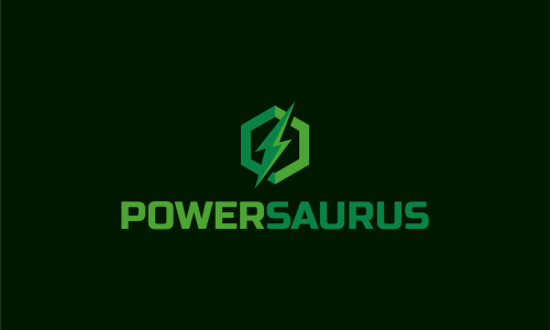 Powersaurus - Power startup name for sale