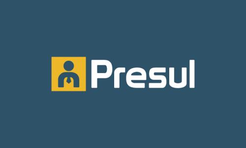 Presul - Professional business name for sale