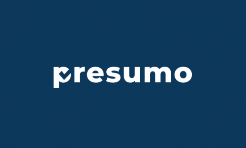 Presumo - Fitness domain name for sale