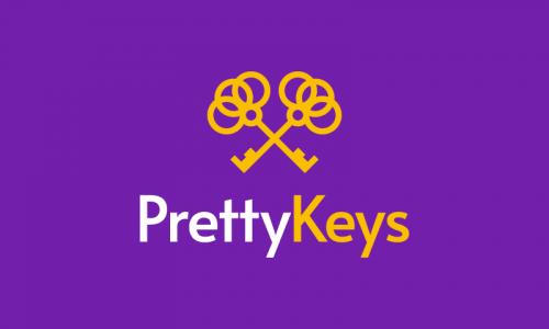 Prettykeys - Media brand name for sale