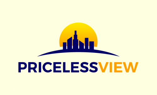Pricelessview - Real estate startup name for sale