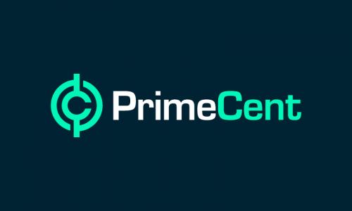 Primecent - Contemporary company name for sale