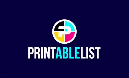 Printablelist - Marketing business name for sale