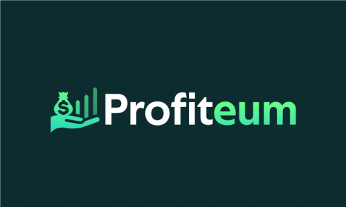 Profiteum - Accountancy startup name for sale