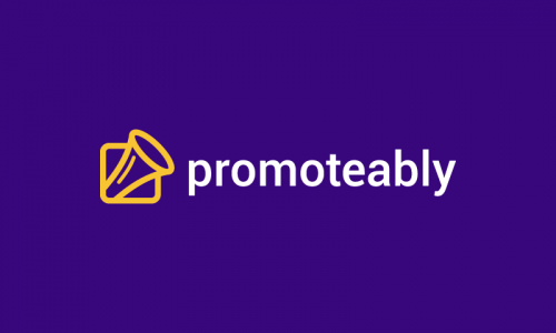 Promoteably - Possible startup name for sale