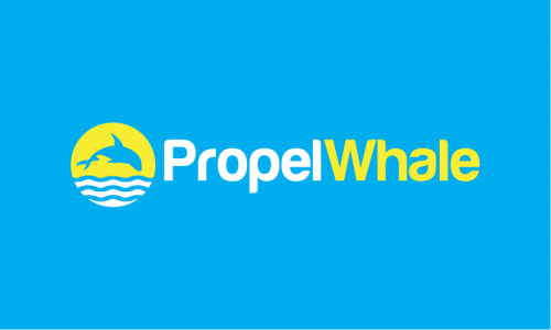 Propelwhale - Appealing brand name for sale
