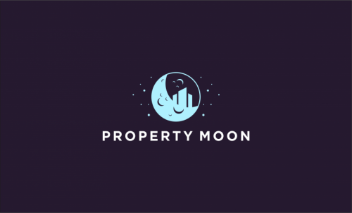 Propertymoon - Real estate startup name for sale