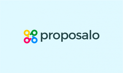 Proposalo - Business startup name for sale