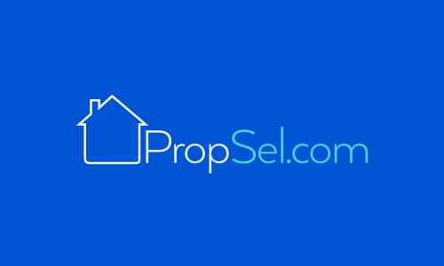 Propsel - Real estate startup name for sale