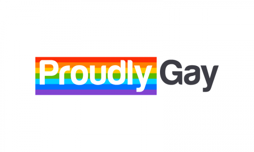 Proudlygay - Approachable product name for sale