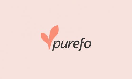 Purefo - Health tech domain name for sale