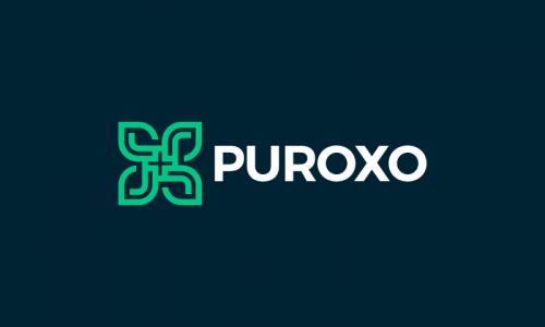 Puroxo - E-commerce domain name for sale